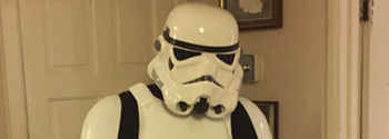 Stormtrooper Armour Review from Wayne Hansford