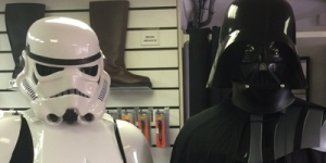 Stormtrooper Armour and Supreme Vader Review from Sud and Dharman