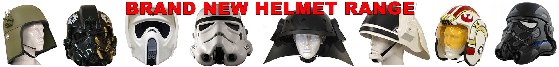 Brand New Star Wars Helmet Range