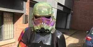 Shadowtrooper at Manchester Pride