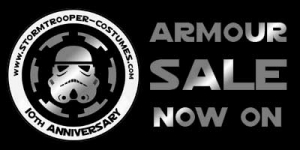Star Wars Stormtrooper Armour Anniversary Sale