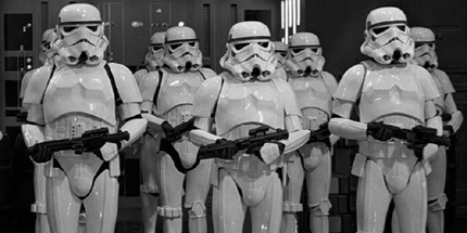 Stormtrooper Costumes Available in Reduced, Standard and XXL Sizes