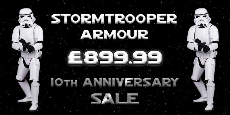 Star Wars Stormtrooper Armour 10th Anniversary SALE