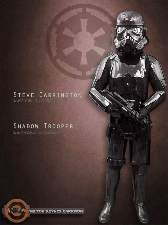 Shadowtrooper Steve Carrington Replica Armor costume review