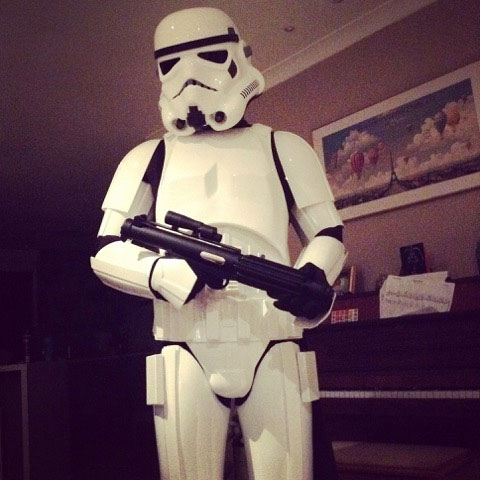 Terry Stormtrooper Replica Armour costume ready to wear review