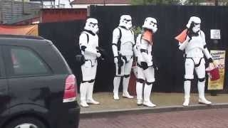 Stormtroopers at McDonalds Drive Thru - Move Along, Move Along... Funny